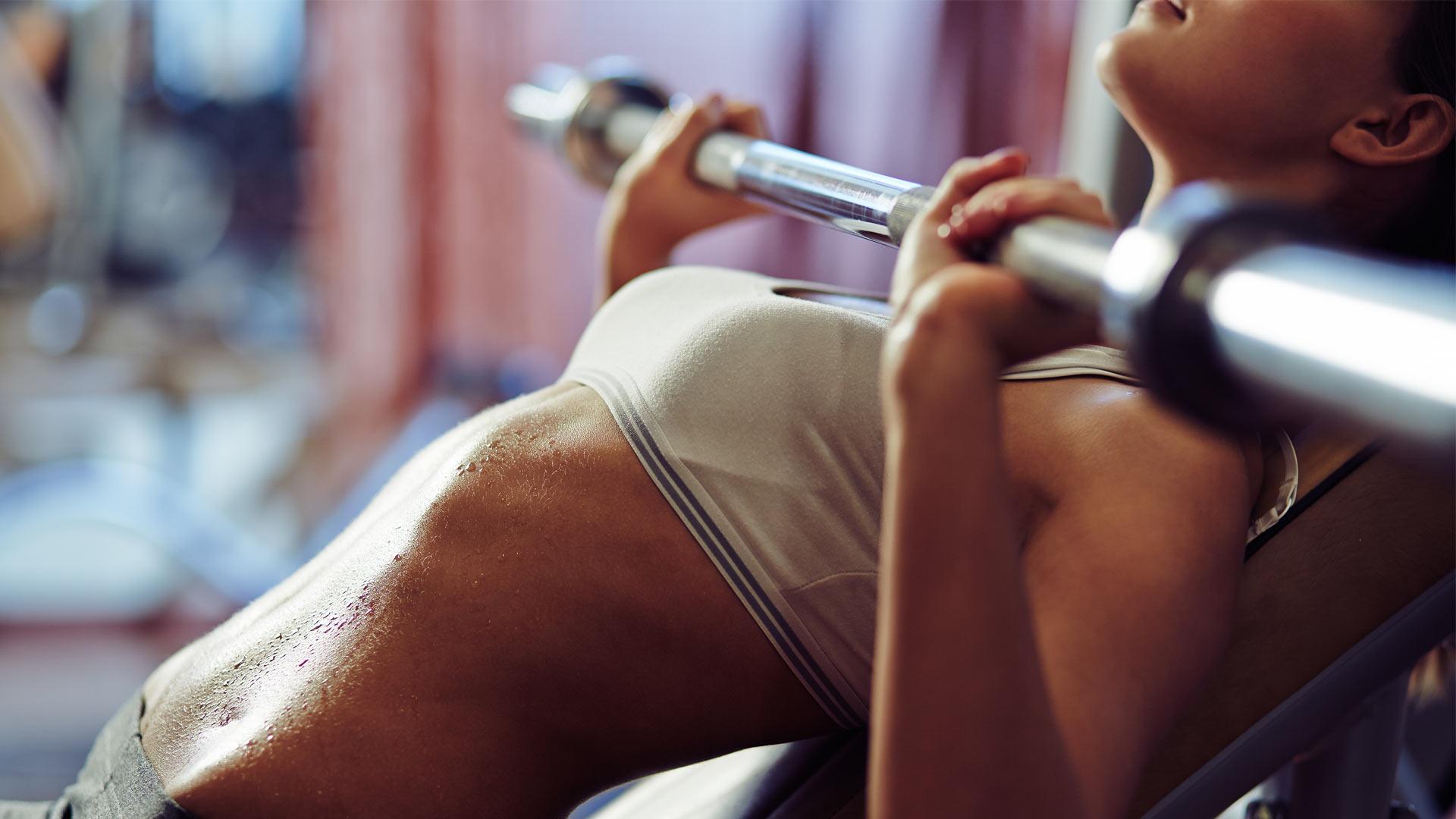 sterke beenspieren