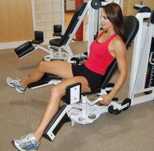 leg adductors machine