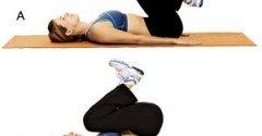 Leg Lift (Reverse Crunch)