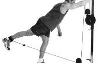 Cable Hip Extension