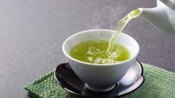 Groene-thee-afvallen