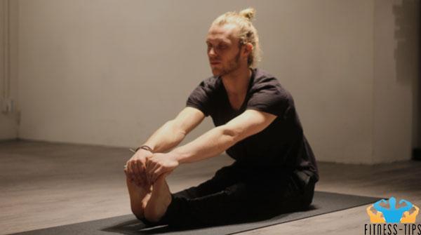 Paschimottanasana-yoga
