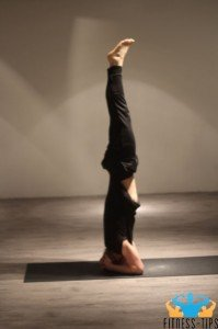 Hoofdstand-yoga