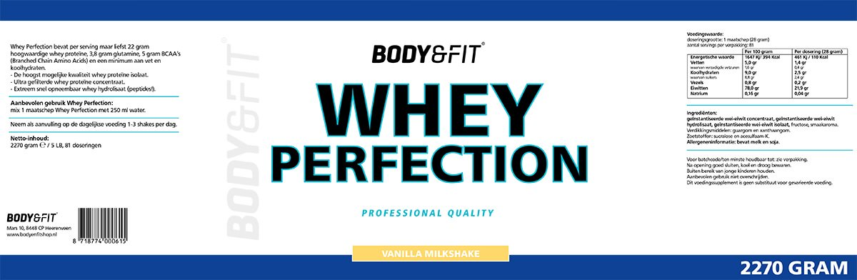 whey perfection afvallen