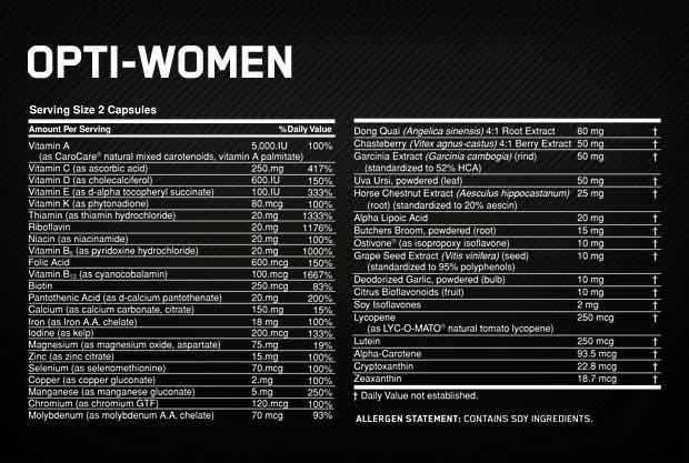 Opti-women-inhoud
