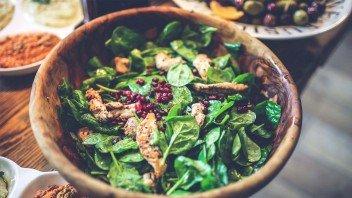 spinazie-salade