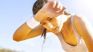 Onderzoek: zweten gevorderde sporters meer dan beginners?