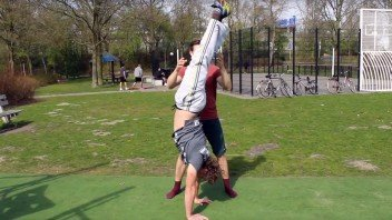 Handstand-leren