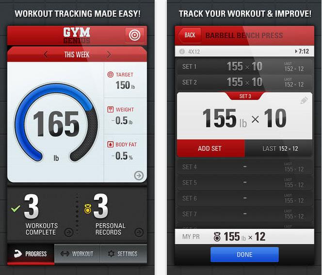 Gym-Genius-app