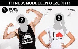 Fitnessmodellen (man/vrouw) gezocht!