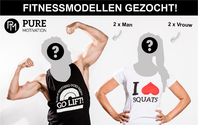 fitnessmodellen gezocht PM