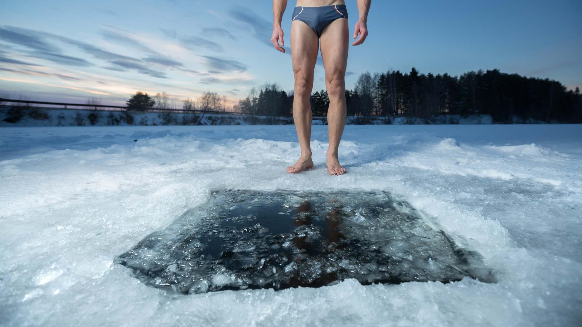 Afbeeldingsresultaat voor in bad koud water