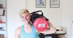Workout Monday: full-body met weight bag