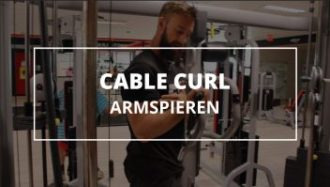 Cable-curl