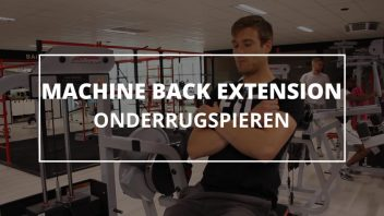Machine-back-extension