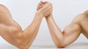 Hoe word je onverslaanbaar met armpje drukken?