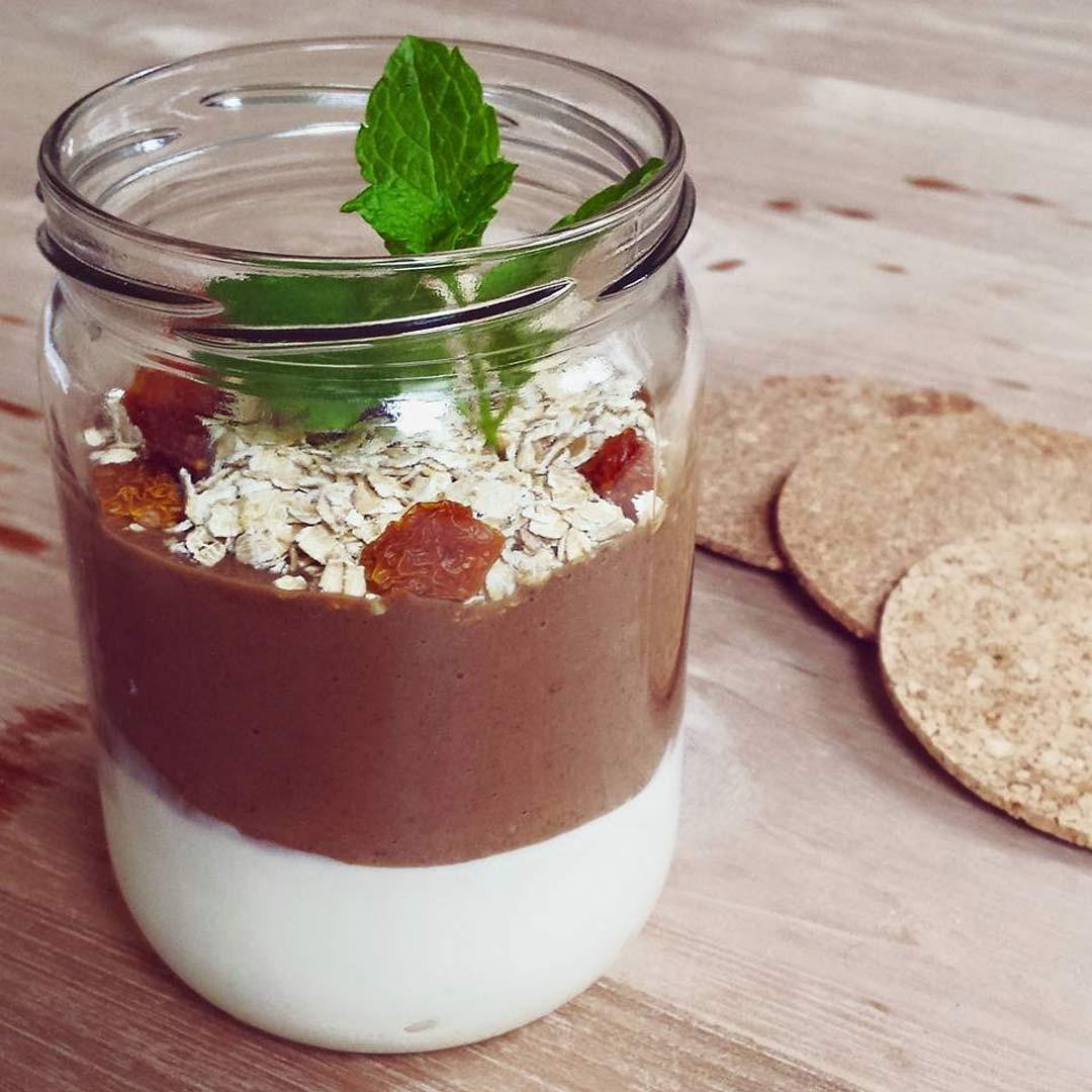 Gezonde-chocoladepudding