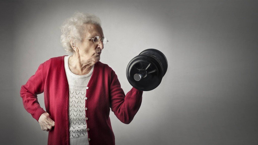Oudere krachttraining