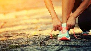 Aantal minuten hardlopen op het voedingsetiket?