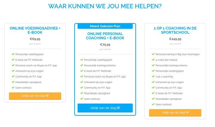 online-coaching-prijzen