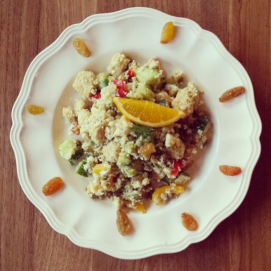 Bloemkool-couscous