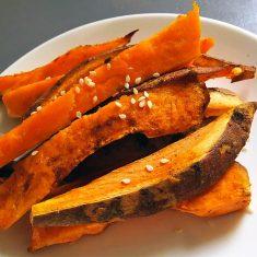 Friet-zoete-aardappel