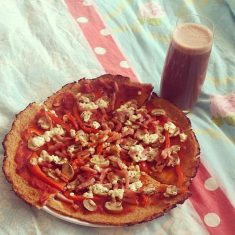 Glutenvrije-bloemkoolpizza