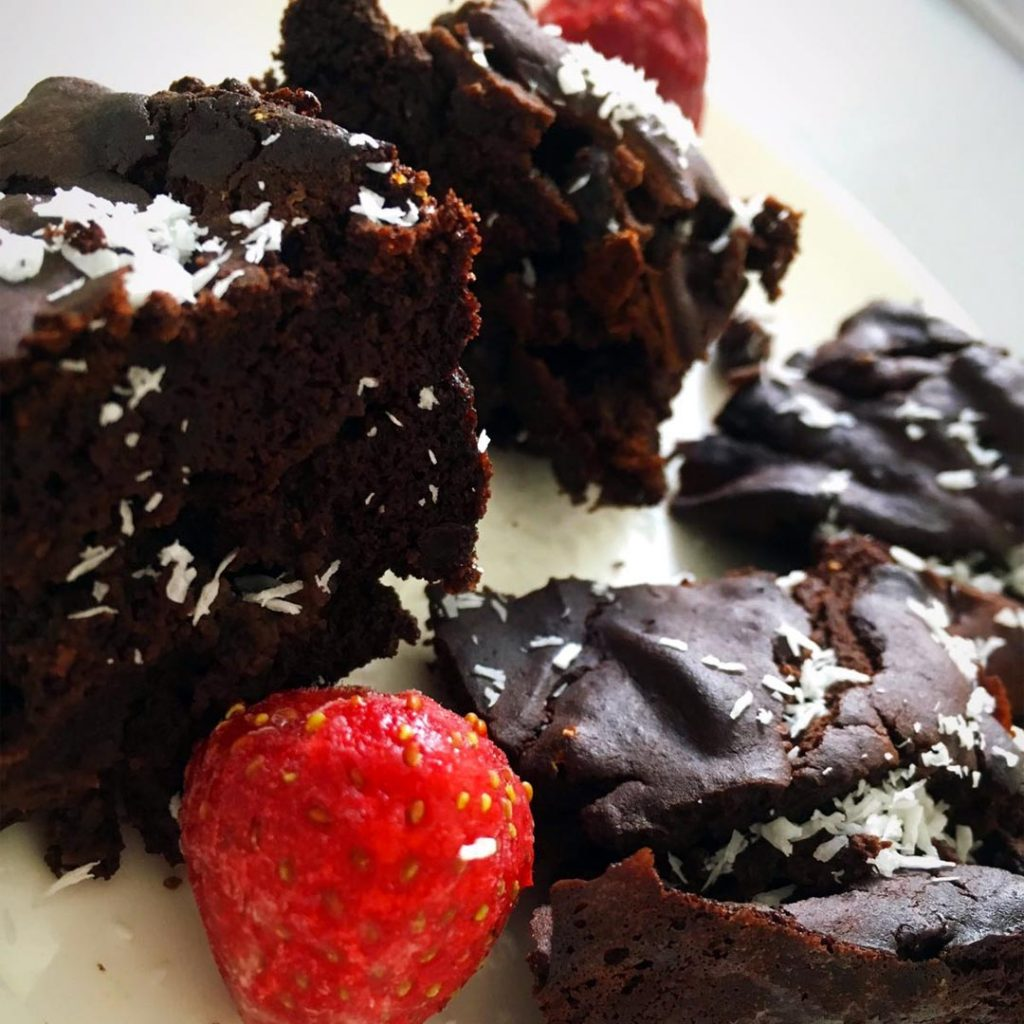 Healthy Bonen Brownies