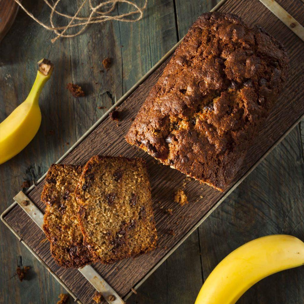 Gezond bananenbrood