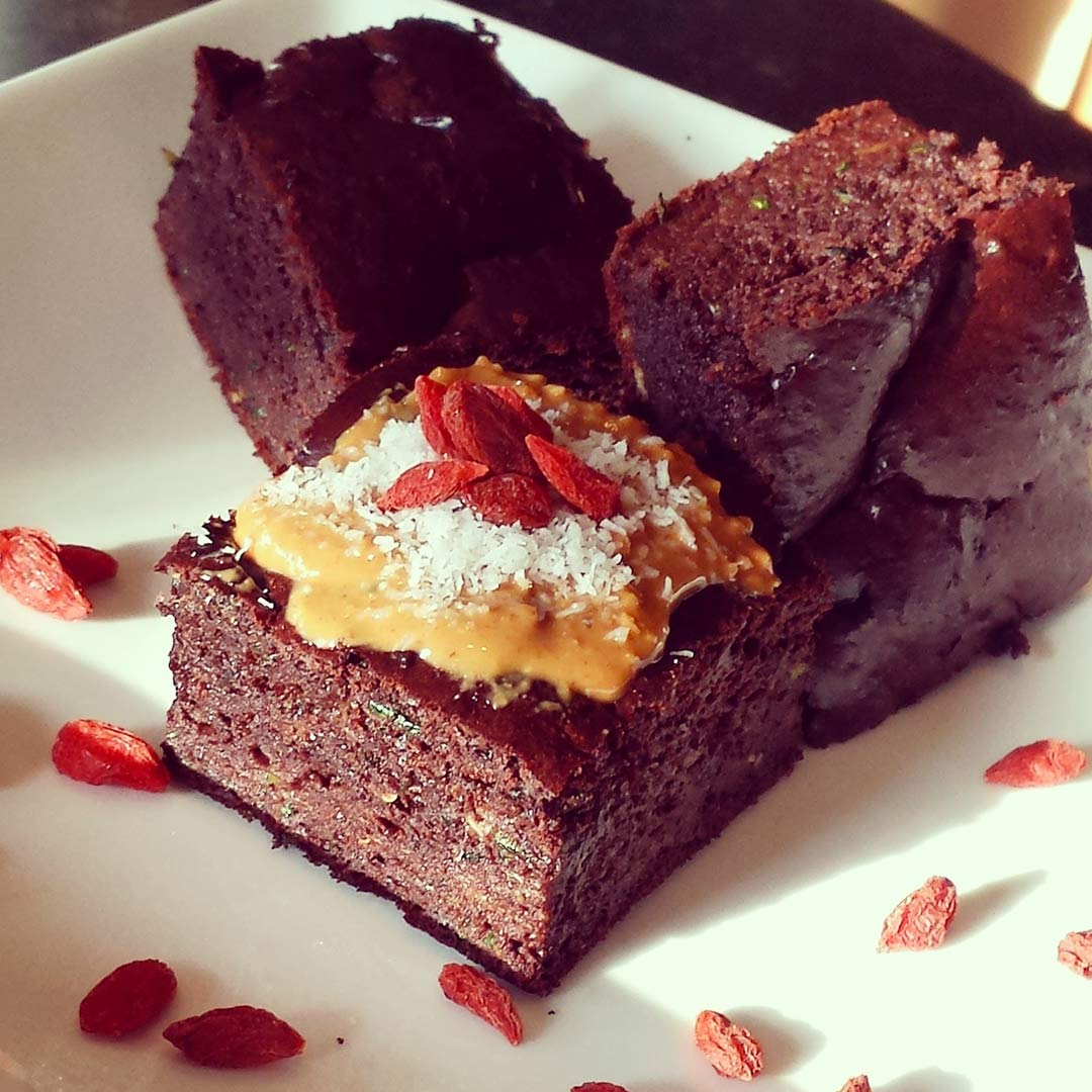 Courgettebrownies