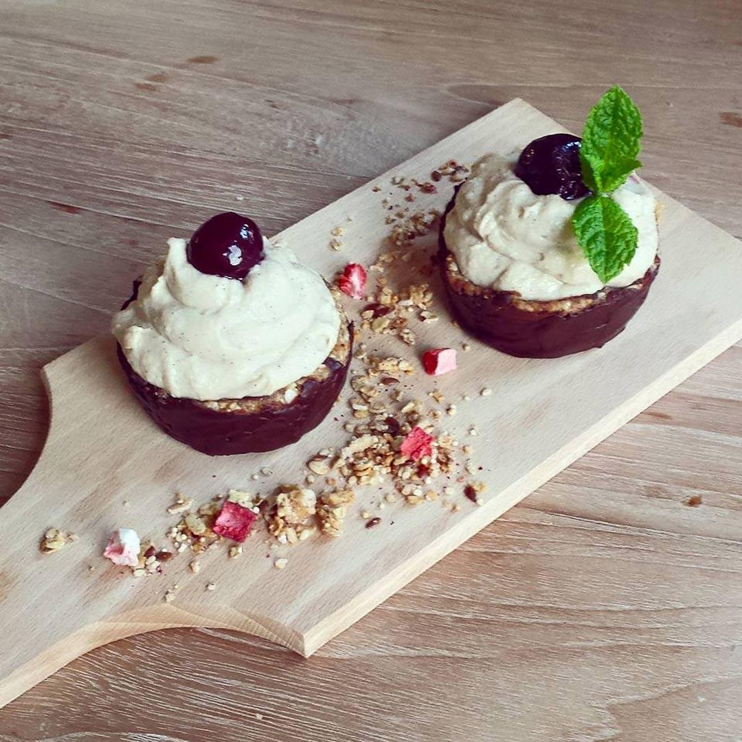 Proteïne crèmecupcakes
