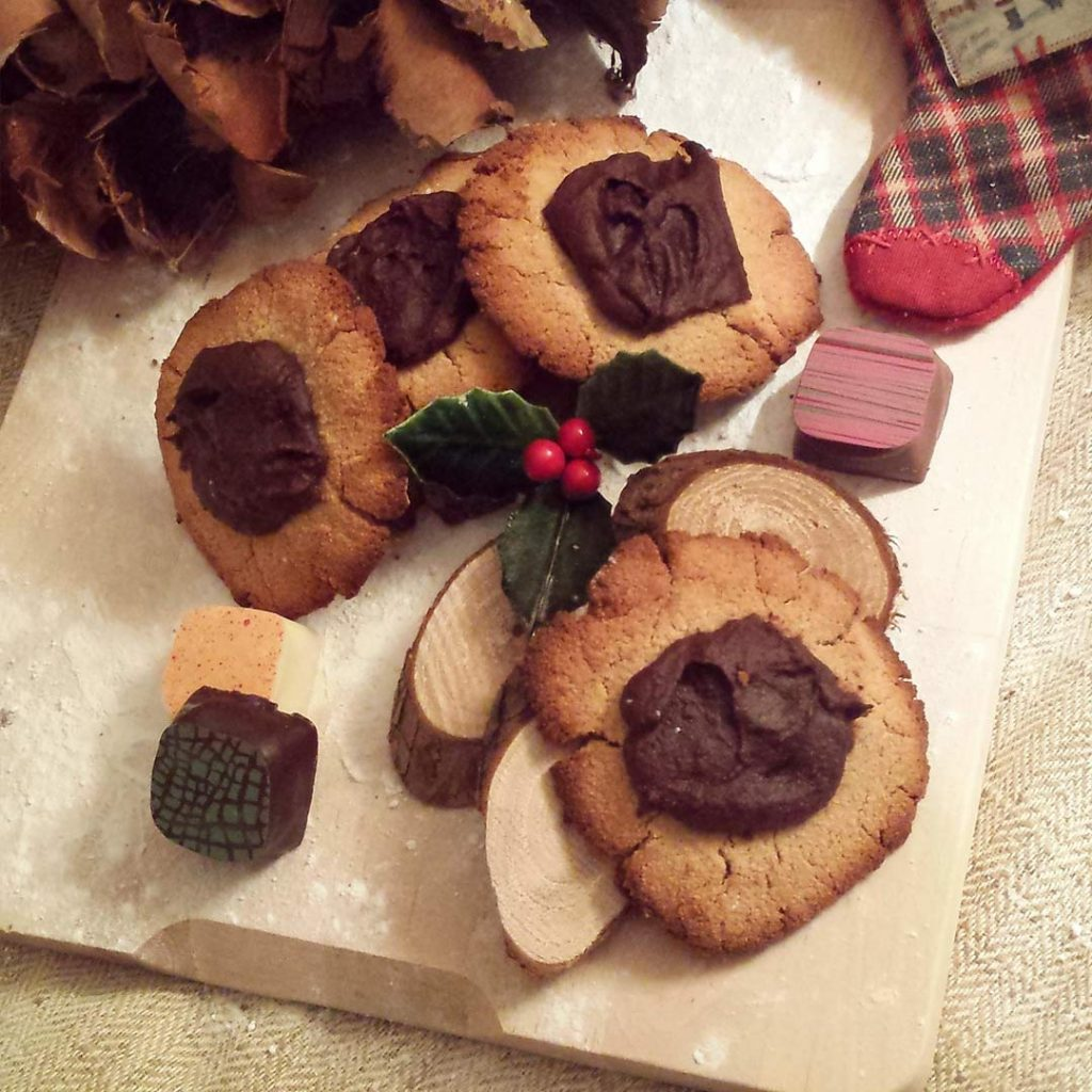 Chocoladepasta koekjes