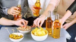 Wat te doen bij feestjes, borrels en eten buiten de deur?