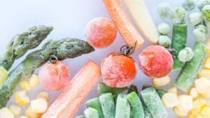 Zijn ingevroren groenten net zo gezond als verse groenten?
