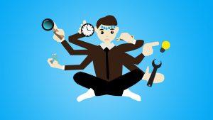 Column: multitasken bestaat niet!