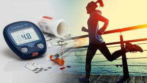 De invloed van inspanning bij diabetes mellitus type 1