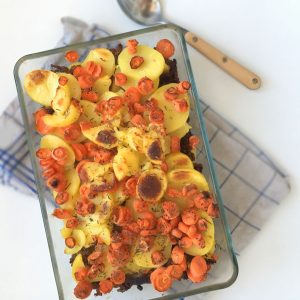 wortel-aardappel-schotel