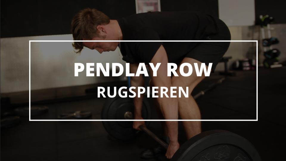 Pendlay-row