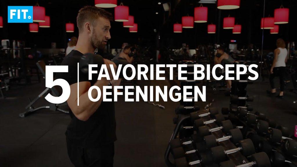bicepsoefeningen