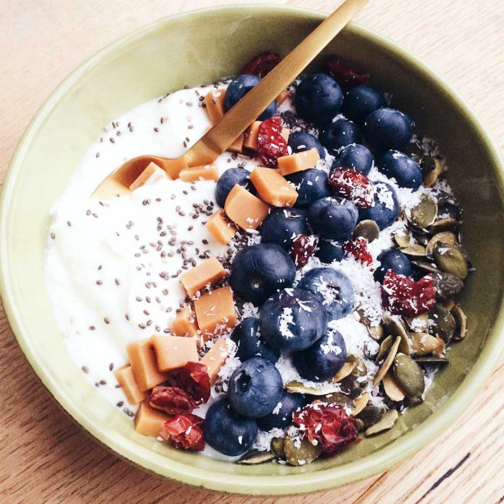 Comfy breakfast bowl