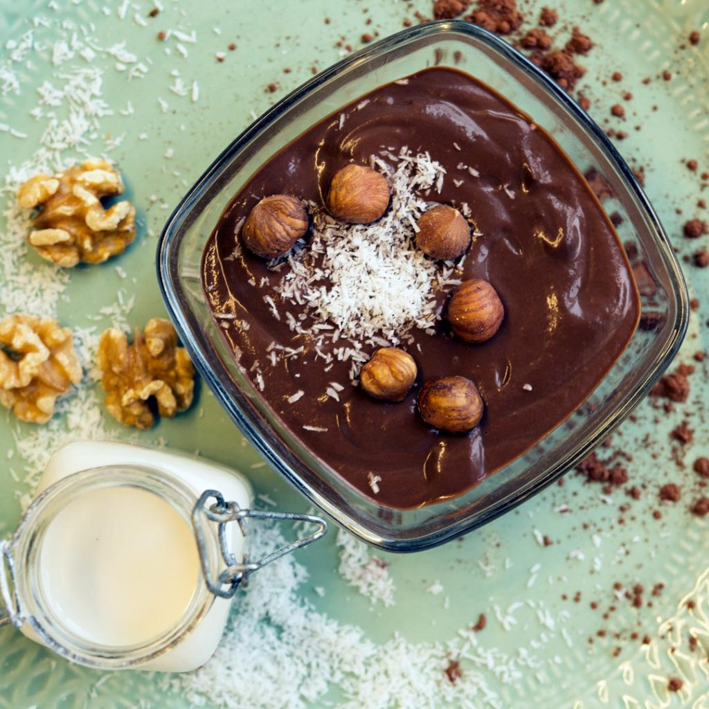 Vegan chocoladevla