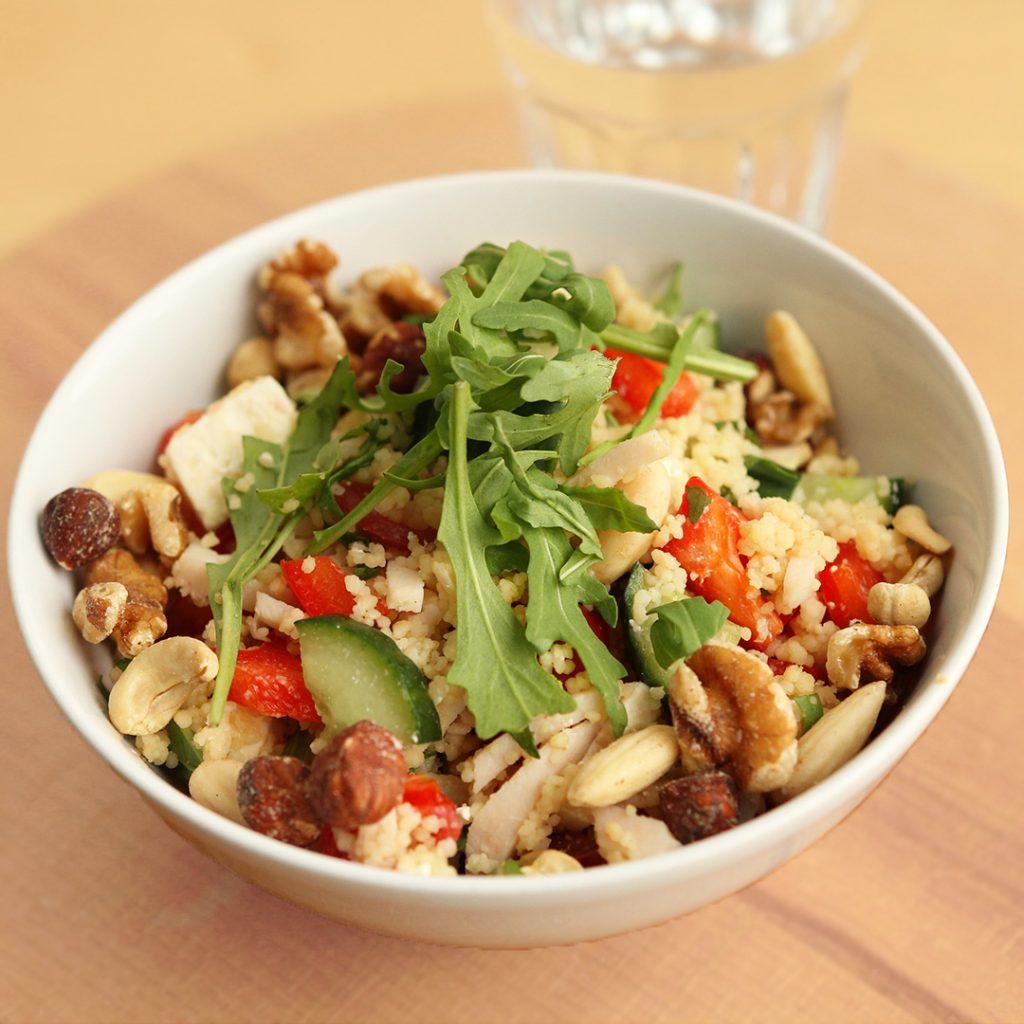 Frisse couscous salade