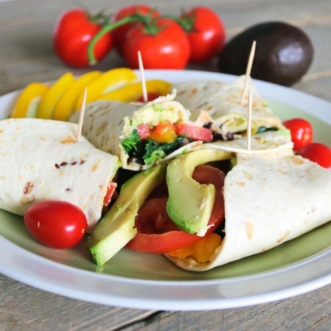 vegetarische-eiwitrijke-wraps