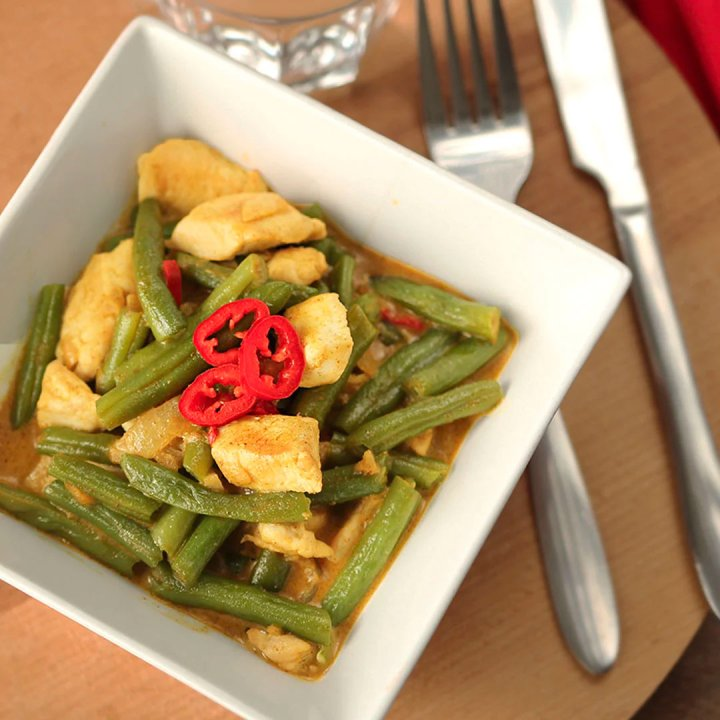 Pittige Thaise curry recept