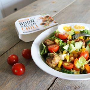 eiwitrijke-salade-met-vegan-balletjes