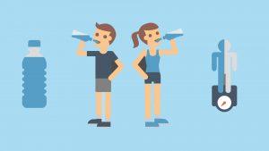 Helpt water drinken om af te vallen?