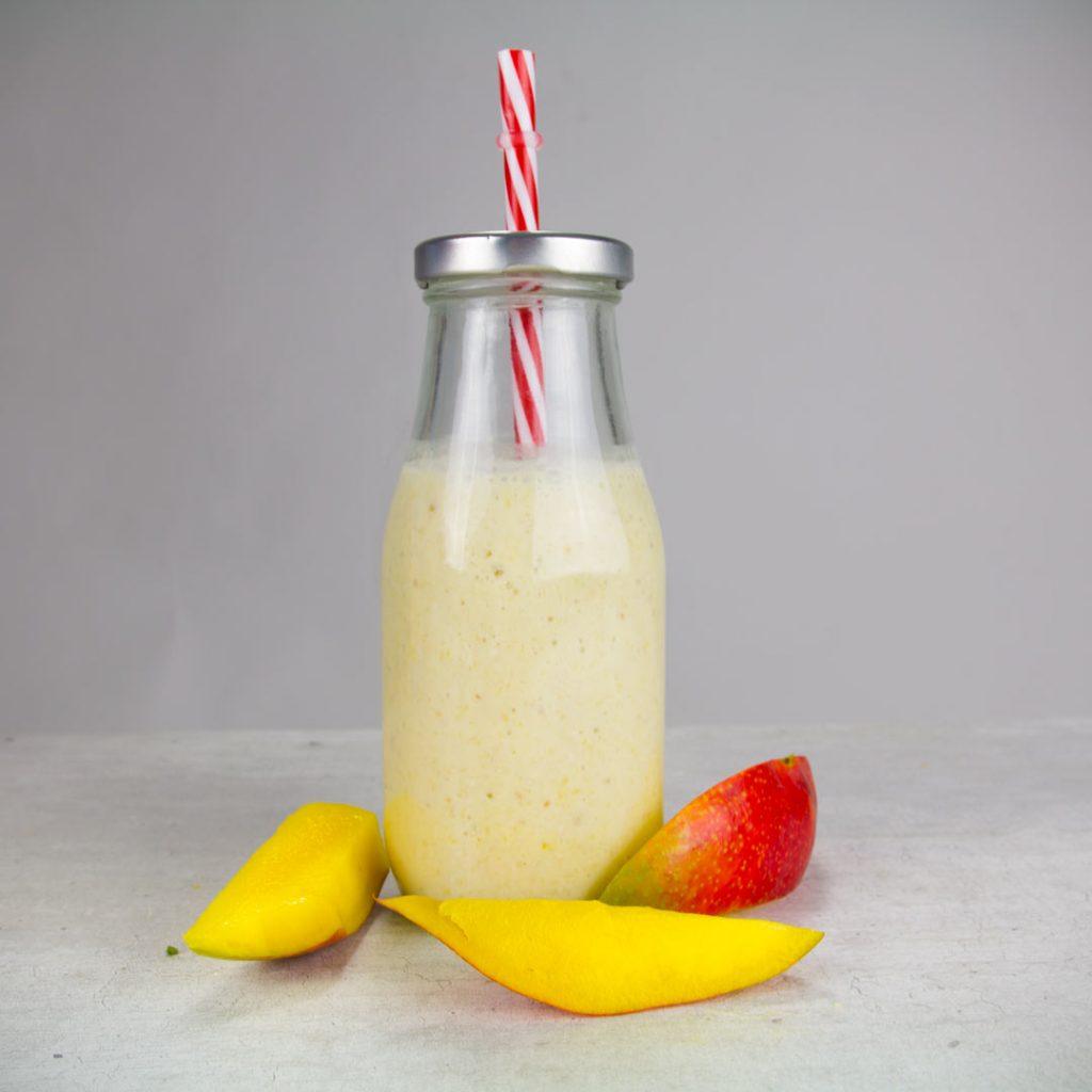 Exotische mango smoothie