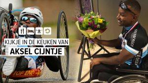 Interview met handbiker Aksel Cijntje