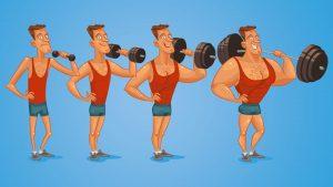 Hoeveel spiermassa kun je aankomen in 1 jaar?