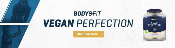 Vegan eiwitten body & fit